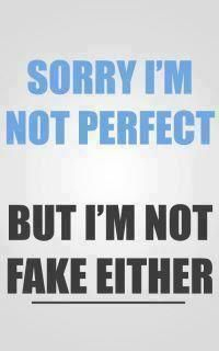 Sorry I Am Not Perfect..   #quotes