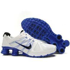 www.asneakers4u.com 438684 011 Nike Shox Agent White Blue J01007