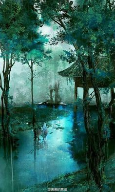 40 Deep Yet Majestic Chinese Landscape Painting Ideas Numerous critics and scholars consider - - Chinese Landscape Painting, Fantasy Landscape, Landscape Art, Landscape Paintings, Chinese Painting, Landscape Design, Landscape Fountains, Deep Paintings, Norway Landscape