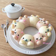 日本人のごはん/パン Japanese Bread ちぎりぱん♡