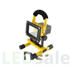 Kannettava Ladattava LED Valonheitin 10W
