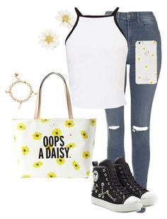 Untitled #160 by jayla-gore on Polyvore featuring polyvore, fashion, style, Miss Selfridge, Topshop, Moschino, Kate Spade and clothing