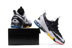 c629e3e9b238 Nike LeBron 13 Low Limited LeBron James Family Foundation Multicolor