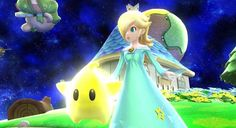 Super Mario Galaxy's Rosalina joins the fight in new Smash Bros ...