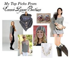 """Emmie Lynne Boutique"" by thehousewife on Polyvore"