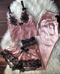 Belle Lingerie, Pretty Lingerie, Designer Lingerie, Beautiful Lingerie, Lingerie Set, Cute Sleepwear, Loungewear, Pretty Outfits, Beautiful Outfits