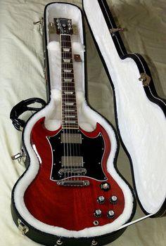 Searching for a guitar? Ukulele, Sg Guitar, Guitar Inlay, Learn Guitar Chords, Guitar Girl, Music Guitar, Guitar Amp, Cool Guitar, Playing Guitar