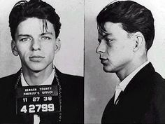 In 1938, a 23-year-old Sinatra was arrested on charges of 'seduction' and 'adultery'