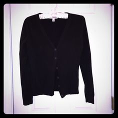 Black Merona Cardigan Barely worn black cardigan by Merona. Excellent condition. Merona Sweaters Cardigans