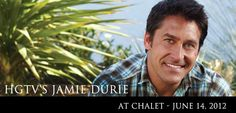 He's coming. Two appearances at Chalet on June 14. Tickets: www.chaletnursery.com.