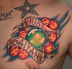 'Just Saiyan' by Nyssa Brisbane Body Art (Brisbane Australia)