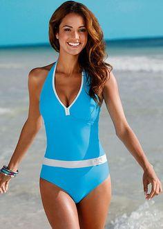 8348103101b95 TQSKK 2017 New One Piece Swimsuit Women Vintage Bathing Suits Halter Top  Plus Size Swimwear Monokini Swimsuit Summer Beach Wear