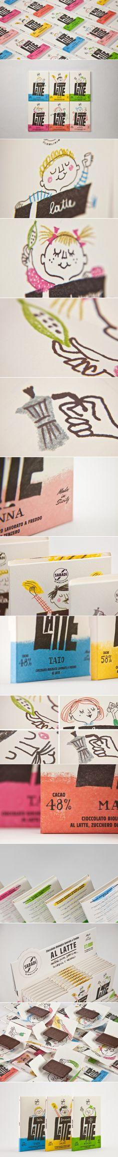 LATTE by Sabadì — The Dieline - Branding & Packaging Design