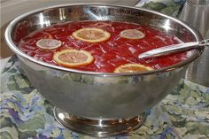 This punch was easy and a hit:  NON-ALCOHOLIC PUNCH    2 (6 oz.) cans frozen orange juice  2 (6 oz.) cans frozen lemonade  8 (6 oz.) cans plain water  Juice of 3 fresh lemons or 6 oz. of lemon juice  2 c. grenadine or 2 (6 oz.) cans frozen dark fruit drink (cherry, grape, raspberry)  3 qts. pre-chilled ginger ale    Mix all together, float orange slices on top, add cherries or frozen strawberries. Makes 38 (5 ounce) cups or 48 (4 ounce) cups. Similar in taste to whiskey sours.