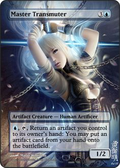 Magic The Gathering Master Transmuter Proxy