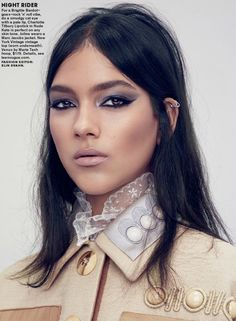 "Duchess Dior: ""Glam Squad"" by Sharif Hamza for Teen Vogue April 2015 #pixiemarket"