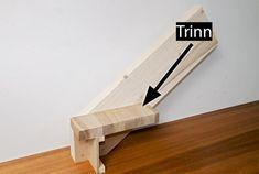 Så enkelt lager du din egen trapp - viivilla.no Shelves, Scale, House, Home Decor, Stairs, Weighing Scale, Shelving, Decoration Home, Home