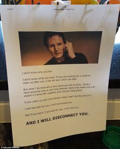 A Reddit user uploaded a photo of a note he penned to his teenagers telling them that he w...