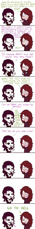 Why clockwork hates Jane by Mangaotakufreak.deviantart.com on @DeviantArt