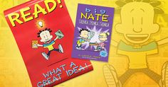 "--THIS GIVEAWAY HAS ENDED-- Big Nate is at it again in the JUST-RELEASED ""Big Nate: Thunka Thunka Thunka!"" We're giving one lucky reader the chance to win a copy of this brand-new Big Nate collection, PLUS a Big Nate poster! 
