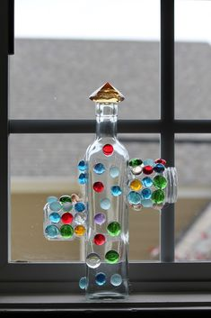 a 'gluing' craft- you just take a regular glue gun and literally make glass sculptures with them... really neat.