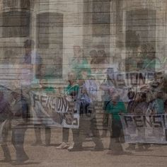 Pension protest in Tarragona #spain #tarragona #pension #protest #multiexposure #doubleexposure Photos, Painting, Art, Art Background, Pictures, Painting Art, Kunst, Paintings, Performing Arts