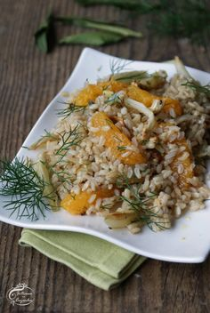 Intrusa na Cozinha - Salada Morna de Arroz Integral e Funcho // Warm Salad of Brown Rice and Fennel - Arroz Pato Real