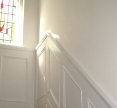 Heritage Painted white panelling