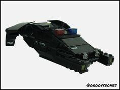 Cyberpunk Cop Car   by Groovybones