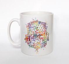 Harry Potter Hufflepuff Coffee Mugs Heat Changing