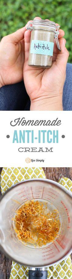 Best Beauty Diy Ideas : Illustration Description A simple and effective homemade anti-itch cream. This stuff works great on bug bites and plant sensitivities. No yucky ingredients.me/… -Read More – Eczema Remedies, Herbal Remedies, Natural Remedies, Best Cream For Eczema, Anti Itch Cream, Homemade Beauty Products, Beauty Recipe, Herbal Medicine, Beauty