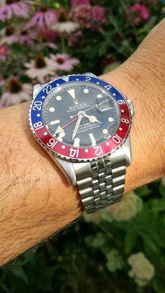 Rolex GMT Master Pepsi from 1968