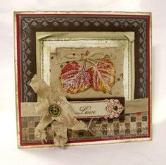 SUO Challenges » Blog Archive » SUO Challenge 29: Leaves? Stampin' Up! Has Them