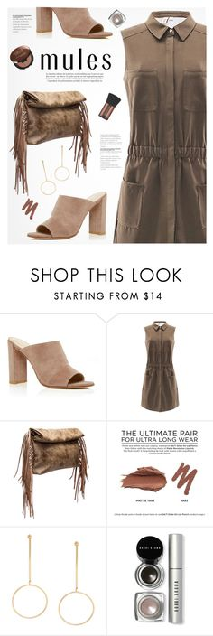 """""""Mules"""" by yexyka ❤ liked on Polyvore featuring Stuart Weitzman, Maroc, Urban Decay, Bobbi Brown Cosmetics, yoins, yoinscollection and loveyoins"""