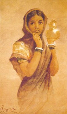 25 Best Raja Ravi Varma Paintings - 18th Century Indian Traditional Paintings | Read full article: http://webneel.com/25-best-oil-paintings-raja-ravi-varma-18th-century-indian-traditional-paintings | more http://webneel.com/paintings | Follow us www.pinterest.com/webneel