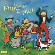 Peer through the die-cut windows in each page of this interactive book to find out who is playing what. Anyone can be the Music Man in this joyful adaptation of the classic nursery song, and everyone can join in making music together! Preschool Music, Music Activities, Kindergarten Music, Kids Music, Nursery Songs, The Music Man, Reading Music, Music Classroom, Classroom Ideas