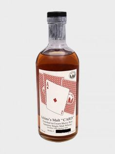 Ichiro's Malt – Ace Of Diamonds Ichiro's Malt Ace of Diamonds is a truly rare item in the Card Series released in 2008 by Akuto Ichiro. A legendary and very rare bottle. Distilled at Hanyu Distillery. Japanese Whisky, Single Malt Whisky, Wine And Beer, Distillery, Whiskey Bottle, Liquor, Gin, Champagne, Cards
