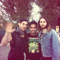 Jared & Shannon at Six Flags for Jared's Bday - 26.12.2013