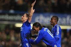 Lampard Drogba and Kalou On Chelsea