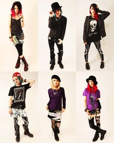 Still love finding inspiration from Japanese punk style. Too bad I feel too old for it these days...
