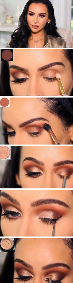 Ibiza   Easy Fall Makeup Looks for Blue Eyes