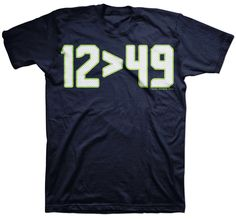 Seattle 12 > 49 Playoff T-Shirt