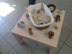 "A simple sand basket. Beautiful!... from Asilo Nido BIANCONIGLIO, Infernetto ("",)"