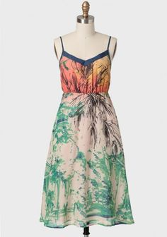 Artistic Touch Midi Dress | Modern Vintage Dresses | Modern Vintage Clothing