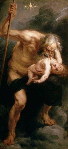 Saturn devouring his son Peter| Paul Rubens
