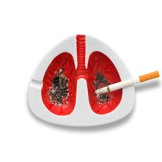 dirty lung ashtray---I know a few ppl who will get these for Christmas =P