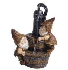Indoor Water Fountain Kit Gnomes Vintage Tabletop Waterfall Pump Patio Zen for sale online Stone Garden Fountains, Backyard Water Fountains, Patio Fountain, Tabletop Water Fountain, Indoor Fountain, Outdoor Fountains, Water Fountain Design, Cat Water Fountain, Fountain Ideas