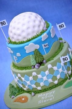 Golf cake? www.tasteoflovebakery.com They can do it!