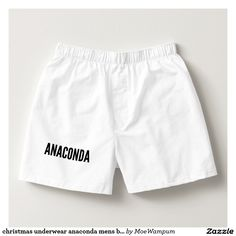 christmas underwear anaconda mens boxers