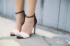 Zara dual toned heels